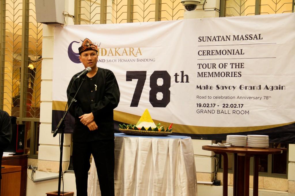 Sambutan dari direksi Hotel Bidakara Grand Savoy Homann - YourBandung