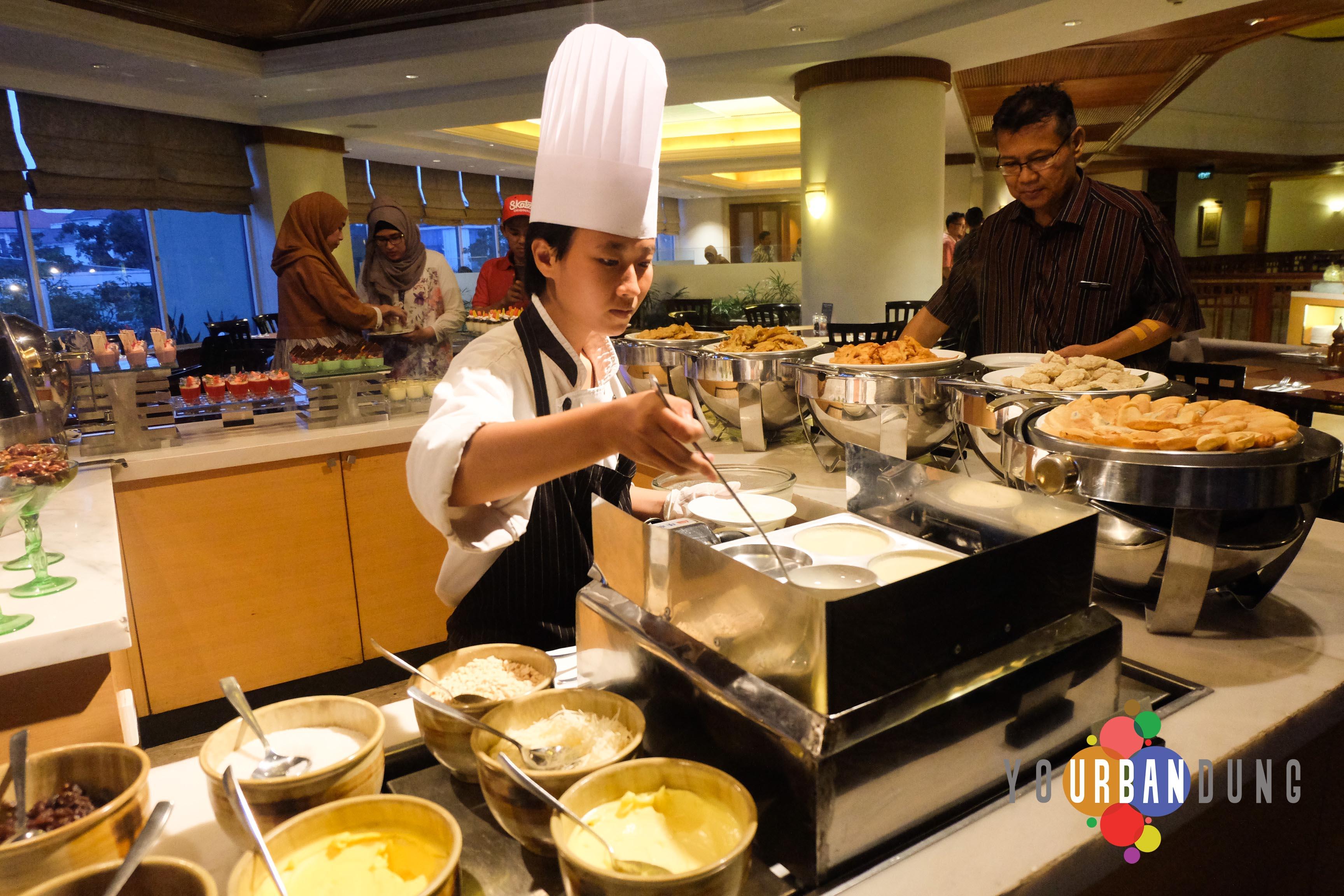 Pojok makanan Indonesia