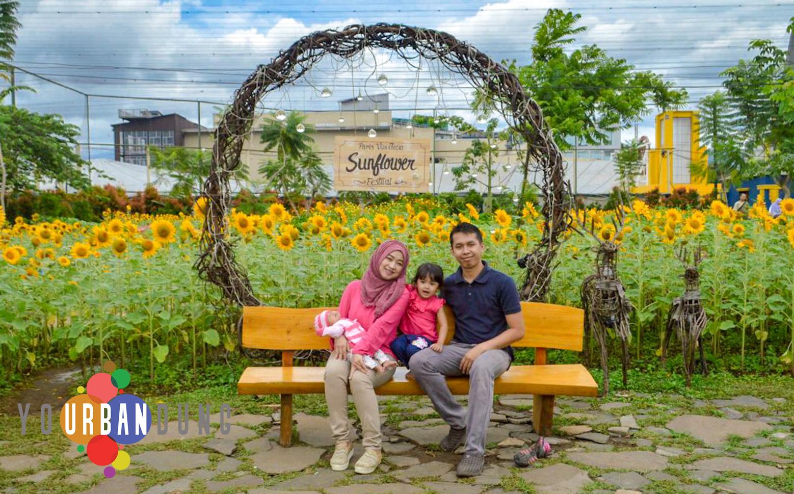 Indahnya Hamparan Ribuan Bunga Matahari Di Sunflower Festival Bandung Your Bandung