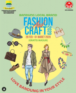 Bandung Local Brand Fashion and Craft 2020 @ Graha Manggala Siliwangi